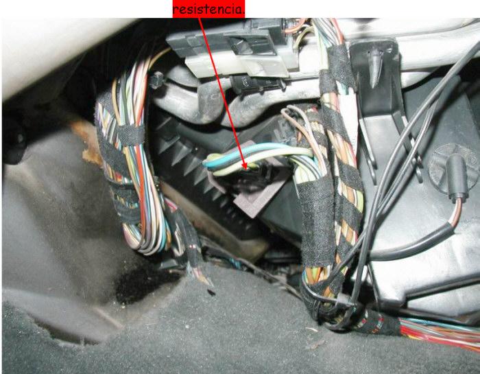 Como arreglar la resistencia de la calefacci n en un 325 for Arreglar aire acondicionado